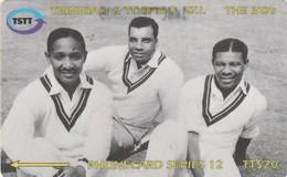 Trinidad & Tobago, 144CTTB, TT$20, Sir Frank Worell, Cricket, Sport, 2 Scans. - Trinité & Tobago