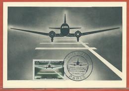 JOURNEE DU TIMBRE FRANCE CARTE MAXIMUM DE PARIS DE 1959 - Dag Van De Postzegel