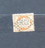 05 - 20 // France N° 38 - Cérès 40c Orange - Oblitération GC 3982 - Toulouse - 1870 Beleg Van Parijs