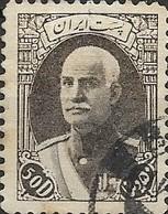 1938 Riza Sh Ah Pahlavi - 50d - Brown FU - Irán