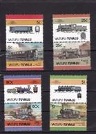 VAITUPU : TUVALU - N°75/82 (1986) Locomotives / Railways MNH** - Treni