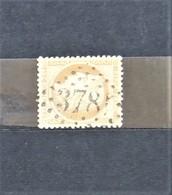 05 - 20 // France N° 38 - Cérès 40c Orange - Oblitération GC - 1870 Beleg Van Parijs