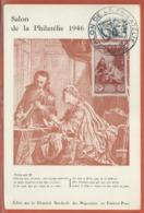 JOURNEE DU TIMBRE FRANCE CARTE DE PARIS DE 1946 - Dag Van De Postzegel