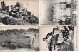 SAINT MARTIN DE LONDRES - 4 VCPA - Pont D MASCLAC  - Chateau De Montferrand - L' Eglise - Intérieur    (1416 ASO) - France