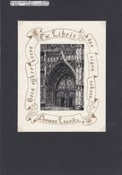 Antwerpen O.L.Vrouw Kathedraal - Ingangspoort - Bookplates