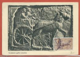 JOURNEE DU TIMBRE FRANCE CARTE MAXIMUM DE PARIS DE 1963 - Dag Van De Postzegel