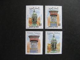 Emmissions Communes De 2001: TB Paires Du Maroc N° 1298/9  Et De France N° 3441/2, Neufs XX. - France