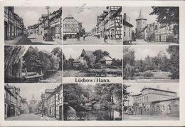 D-29439 Lüchow - Alte Ansichten - Bahnhof ( 50er Jahre) Siehe Stempel ! - Luechow