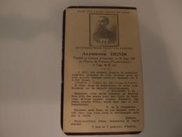 Faire-part Décès Militaire Poilu Mort Au Champ D'honneur Au Moulin De Ficheux 1915 Citation à L'ordre Du Corps D'armée - Décès