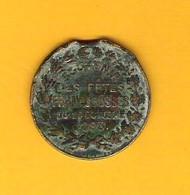 Medaille Commémorative Des Fêtes Franco-Russes De Marseille De 1893 - France