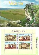Moldova 2004 Europa: Vacation Mi 487-488 In  MH 8  With  1 H-Blatt 5 MNH(**) - Moldova