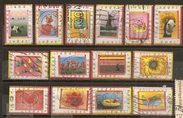 Pays-Bas Netherlands 1998 14 Timbres De Surprise Avec Moulin Windmill, Etc Etc Obl - Usados