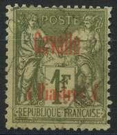 Cavalle (1893) N 8 (o) - Oblitérés