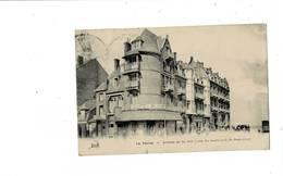 La Panne -Avenue De La Mer. Coin Du Boulevard De Dunkerke. - De Panne