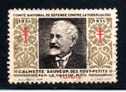 C.N.D.C.LA TUBERCULOSE - Commemorative Labels