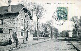 CPA.93.SEINE SAINT DENIS.LIVRY.RUE DE PARIS.LES POSTES. - Livry Gargan