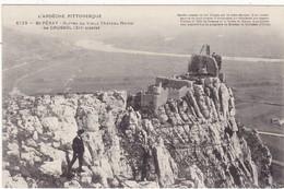 Ardèche : SAINT-PERAY : Ruines Du Vieux Chateau Féodal De Crussol ( Animée ) édit. Artige Et Fils N° 6123 ) - Saint Péray