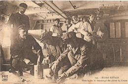 Brest - Ecole Navale - Théorie Remontage Canon - Marine - - Brest