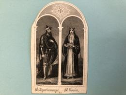 Toussaint Anna Catherina *1839 Ixelles +1848 Ixelles Elsene Enfant Doodsprentje Geknipt Coupe - Décès