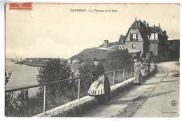 CARTERET - La Terrasse Et Le Port - Carteret