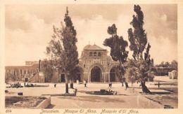 JERUSALEM - Al Aqsa Mosque - Ed. Sarrafian Bros. 614. - Palestina