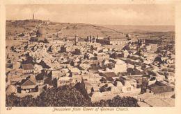 JERUSALEM - From Tower Of German Church - Ed. Sarrafian Bros. 611. - Palestina