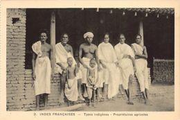 India - PUDUCHERRY Pondichéry - Native Types, Land Owners - Publ. Bombay Photo Stores Ltd. 2. - India