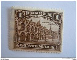 Guatemala 1929 Série Courante Palais National Yv 232 O - Guatemala
