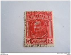 Guatemala 1929 Série Courante Général Orellano Yv 236 O - Guatemala