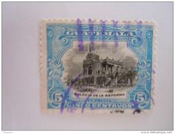 Guatemala 1902 Série Courante Palais De La Réforme Yv 122 O - Guatemala