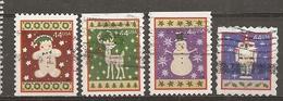 Etats-Unis USA 201- Noel Christmas Obl - Vereinigte Staaten