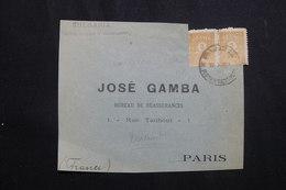 BULGARIE - Devant D' Enveloppe Commerciale Pour La France , Affranchissement Plaisant - L 61960 - 1909-45 Koninkrijk