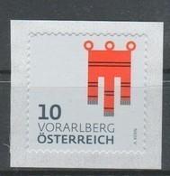 """Österreich 2018: """"WAPPEN- Vorarlberg""""  Postfrisch (siehe Foto/Scan) - 1945-.... 2. Republik"""