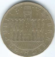 Austria - 20 Schilling - 1980 - Nine States Of Austria - KM2946.1 (edge With Incuse Dots) - Autriche