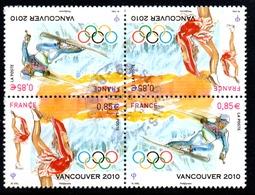 Bloc De 4 Timbres Vancouver - Paires P4436a Tête Bêche - 2010 - Frankreich