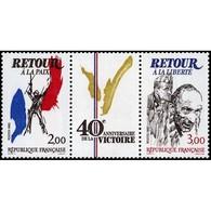 Timbre N° 2369A Neuf ** - 40ème Anniversaire De La Victoire. Le Triptyque. - Nuevos