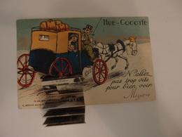 CPA Carte à Système Hue Cocotte Diligence Mézières 1929 - Charleville