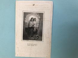 Kluyskens Barbara Religieuse Overste Gasthuis St Jan Brussel *1780 Erpe Aalst +1844 Begraven Graf Ursulinen Zaventem - Décès
