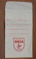 SACHET Enveloppe De Magasin Bijoutier - BIJOUX ORIA - Sérigraphie Un COQ - Années 1950 - Collections