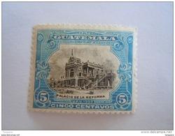 Guatemala 1902 Série Courante Palais De La Réforme Yv 122 MH * - Guatemala