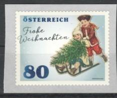 """Österreich 2019: """"Weihnachten Kinder Mit Schlitten """" RM Sk.  Postfrisch (s.Foto) - 1945-.... 2. Republik"""