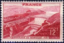 817 BARRAGE De GENISSIAT  NEUF *  ANNEE 1948 - Unused Stamps