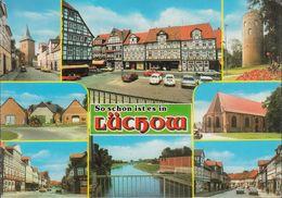 D-29439 Lüchow - Alte Ansichten - Cars - Porsche Targa - VW Käfer - Nice Stamp - Luechow