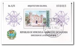 Venezuela 1970, Gestempeld USED, Church - Venezuela
