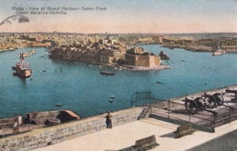 AK - Malta - View Of Grand Harbour - 1935 - Malta