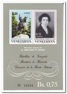 Venezuela 1969, Postfris MNH, Simón Bolivar In Spain - Venezuela