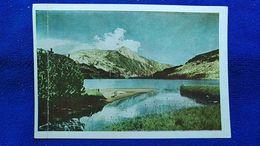 Pirine La Cime Vichrene Avec Et Lac De Banderisata EU - Postcards