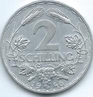 Austria - 1946 - 2 Schilling - KM2872 - Autriche