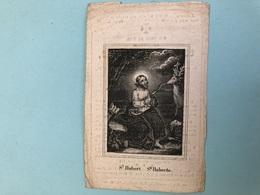 """Weemaes Constantia *1771 Kemzeke +1848 Dendermonde Weduwn Neirinckx Joannes Antonius """"St Hubert """" - Décès"""