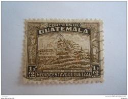 Guatemala 1944 Ruines De Zakuleu Yv 320 O - Guatemala